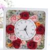 ご両親への贈呈品に花時計を作られました♪